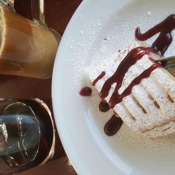 Coffee Cake & Local Firewater