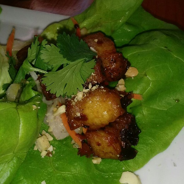Pork Belly Lettuce Wraps