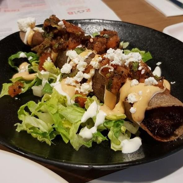 Sweet Potato and Feta Taquitos @ Wahaca Manchester