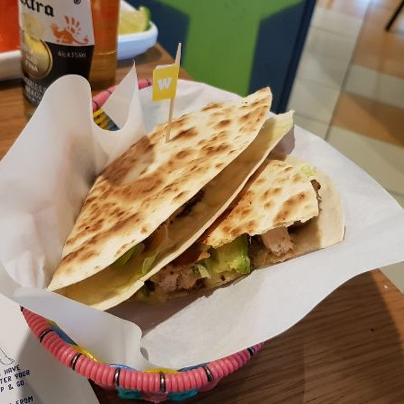Chicken Club Quesadilla @ Wahaca Manchester