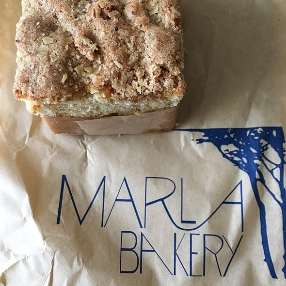 Coffee Cake @ Marla Bakery