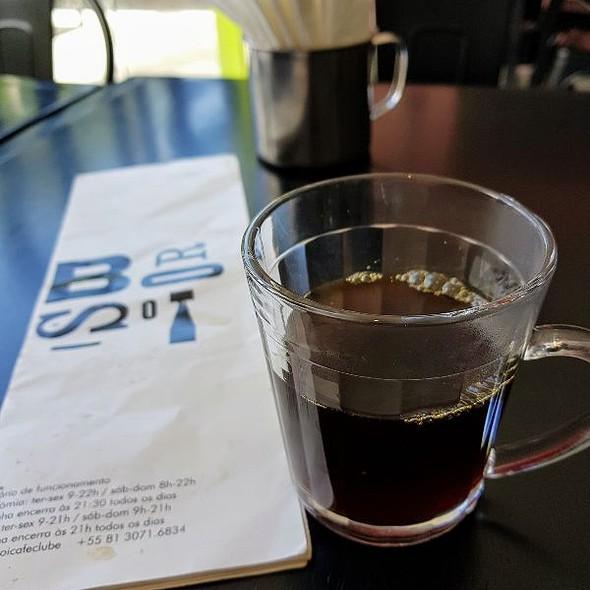 Café Filtrado @ Borsoi Café Clube Pina