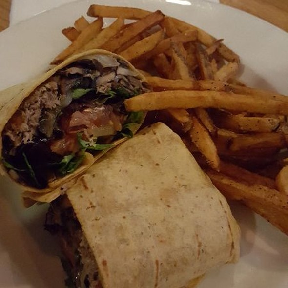 """The Impossible Burger"" Wrap @ Firkin & Phoenix"