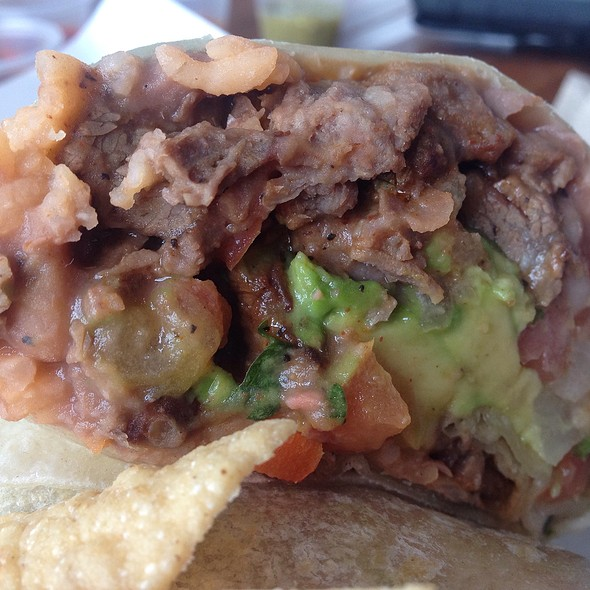 Asada Burrito @ Cactus Mexican Cuisine