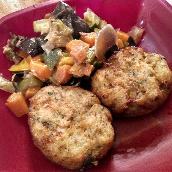 Eggplant Meatballs And Caponata