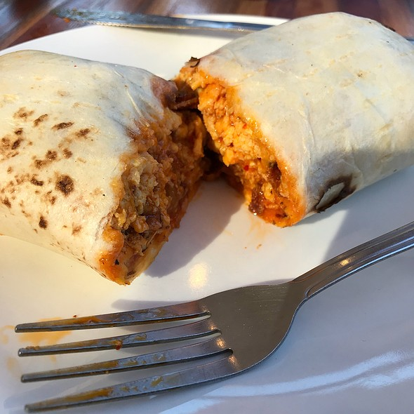 Breakfast Burrito @ The Farmacy