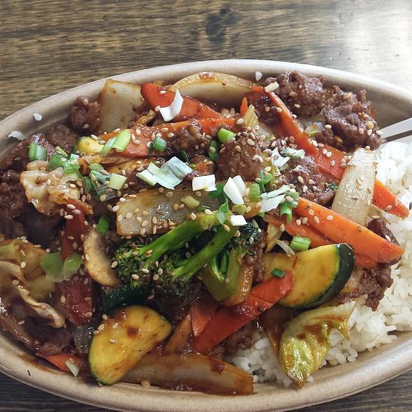 Beef Bulgogi @ HAHA's Teriyaki Grill