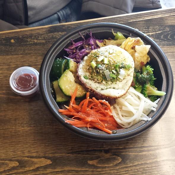 bimbimbap @ HAHA's Teriyaki Grill