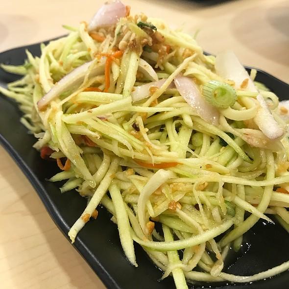 Green Mango Salad @ THAI BOAT NOODLE