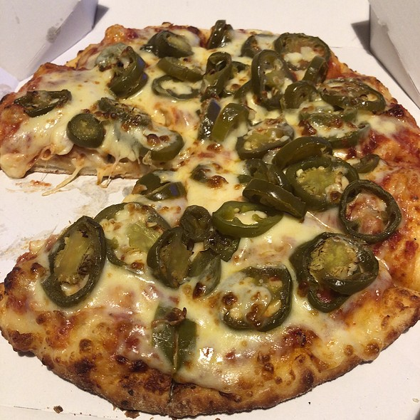 Double Cheese Double Jalapeno Pizza