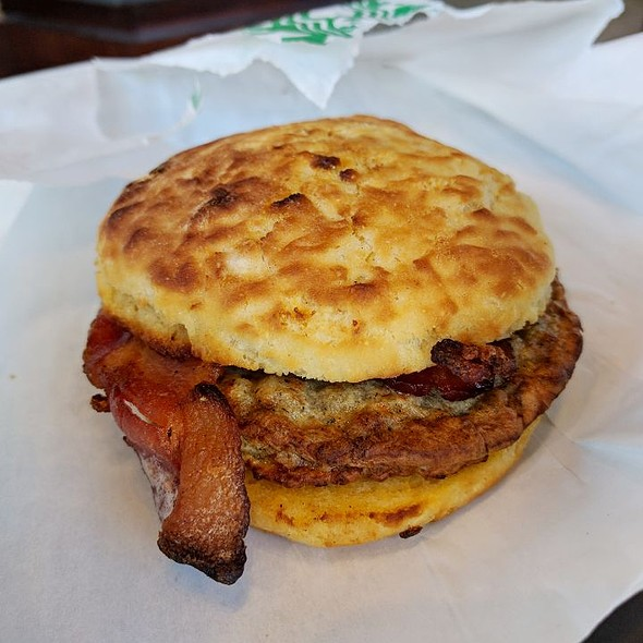 Chicken Sausage Bacon Biscuit
