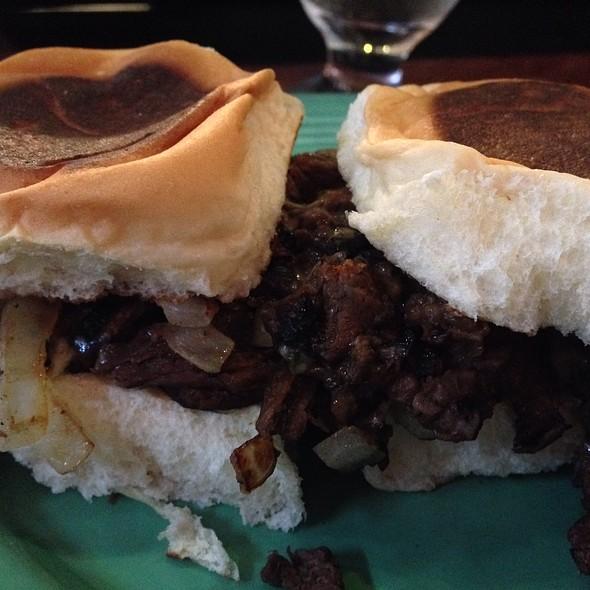 Steak Sliders @ Tekila Bar and Grill