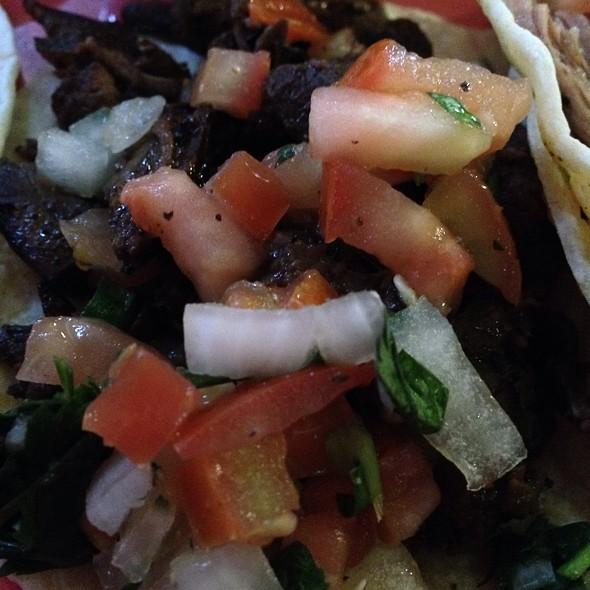 Carne Asada Taco @ Tekila Bar and Grill
