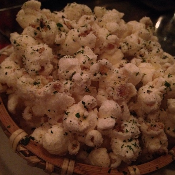 coconut popcorn @ LONO Hollywood