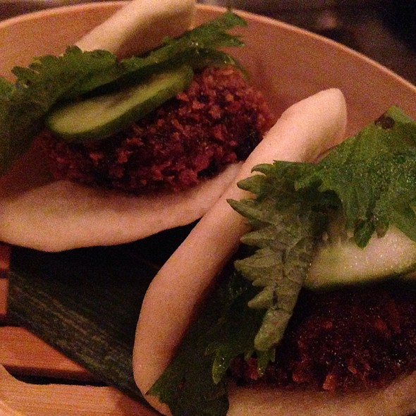 Oxtail Steamed Buns @ LONO Hollywood