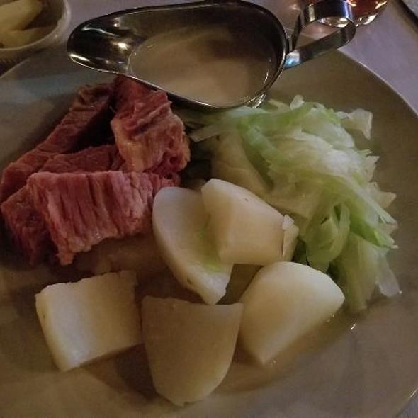 Corned beef and cabbage @ Landmark Tavern
