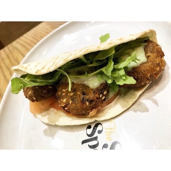 Falafel with Mint Aioli & Dukkah