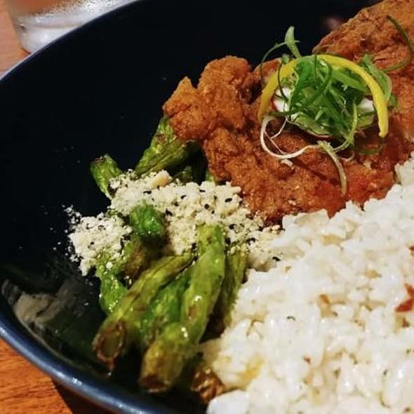 Crispy Porkchop Garlic Rice