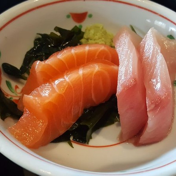 Salmon And Yellowtail Sashimi