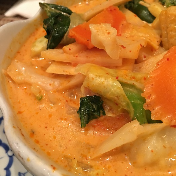 Vegetable Curry Tofu @ Lucky Elephant Thai Cuisine