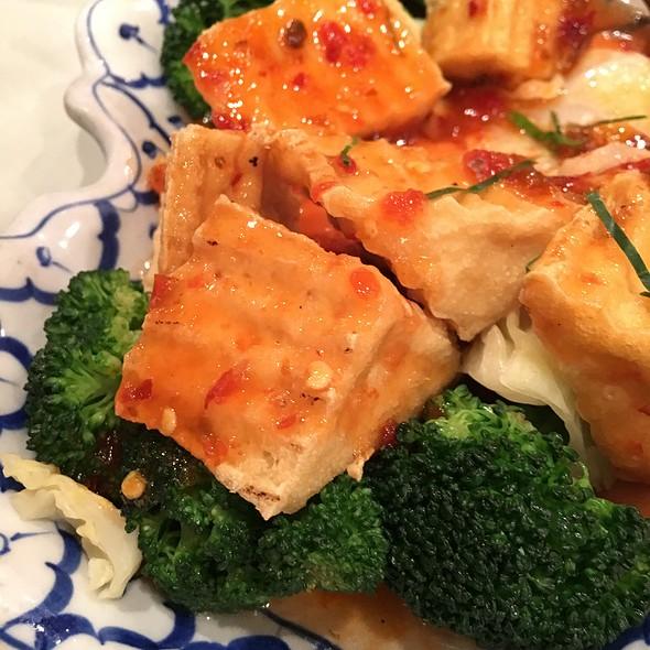 Spicy Tofu @ Lucky Elephant Thai Cuisine
