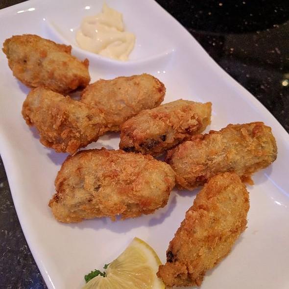 fried oysters @ Koshi Sushi Bar