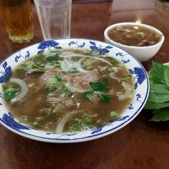 Beef Pho @ Pho-Hiep Hoa