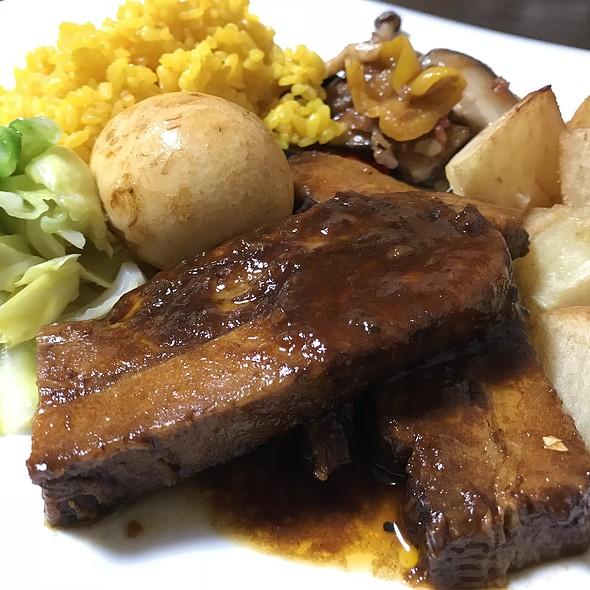 豚三枚肉のバルサミコ煮 @ Taverna I 不動前店