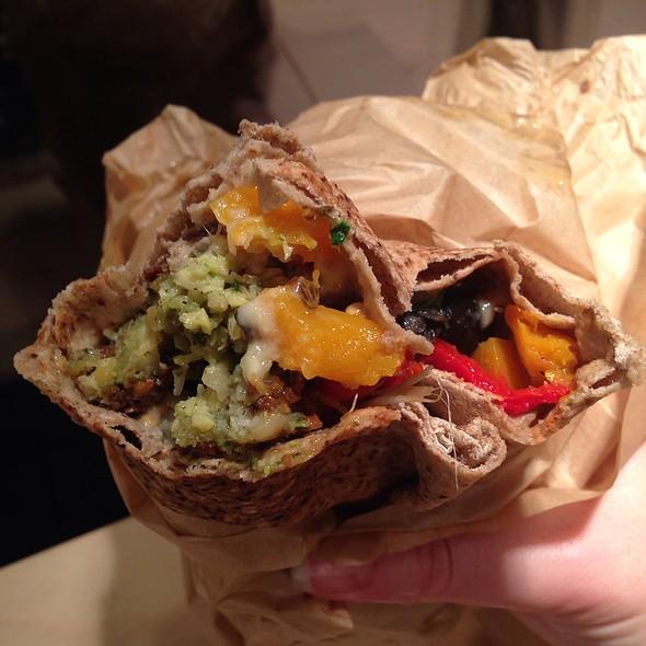 Falafel Sandwich @ Alfalfa Bar