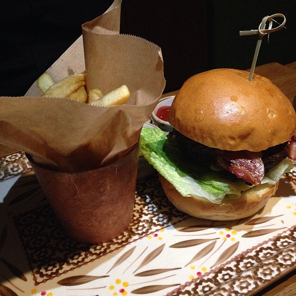 Hamburger Breydel Bacon @ Bistro Stiel