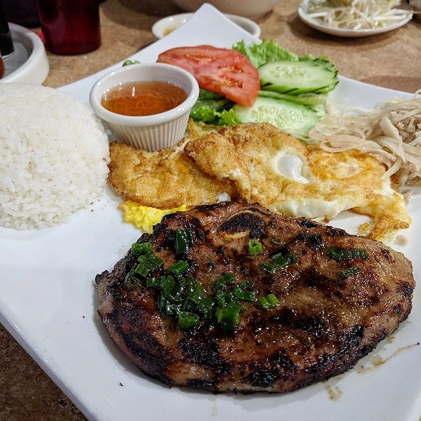 Pork Chop Dinner @ Pho 79