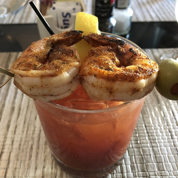 Blackened Shrimp Bloody Mary @ The 801 Kitchen and Bar