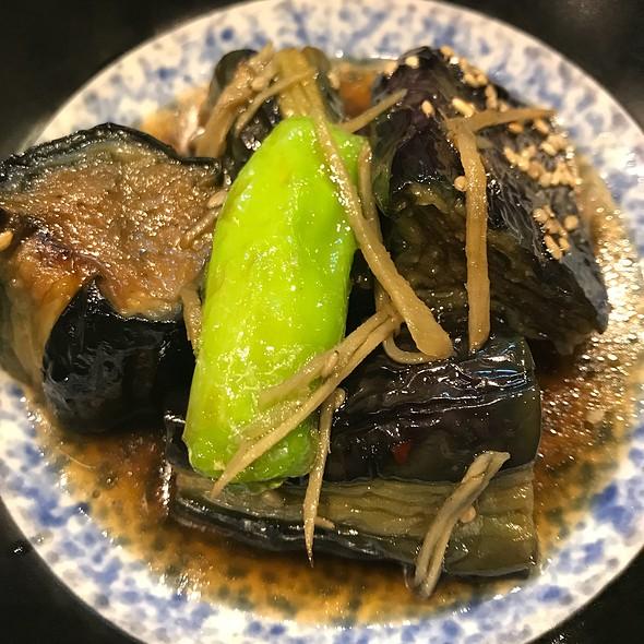 茄子の煮浸し @ そば処創庵