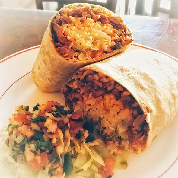 Burrito Al Pastor @ El Sabor Poblano