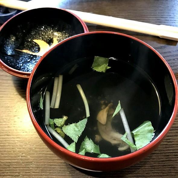 きも吸い @ Unagi Tomoei