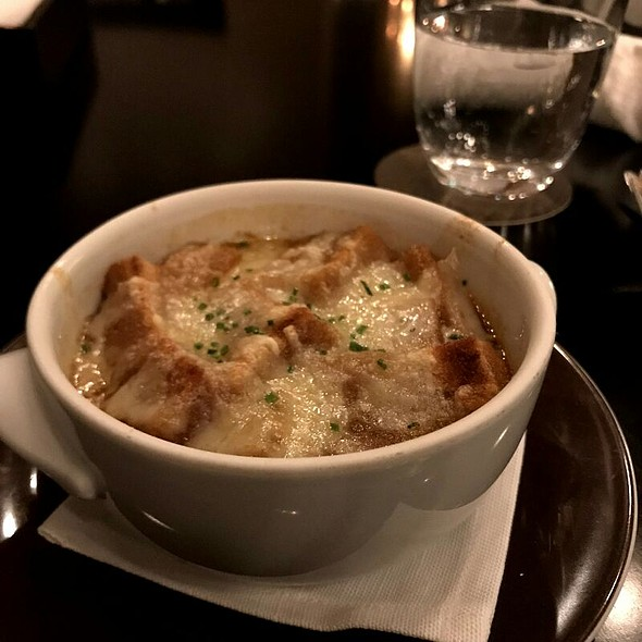 Onion Soup @ The Oak Door