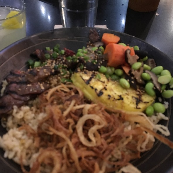 Hawaiian Teriyaki Steak @ Pacific Catch