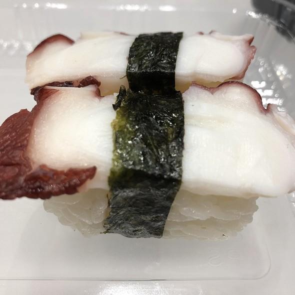 Octopus (Tako) Sushi @ Osaka