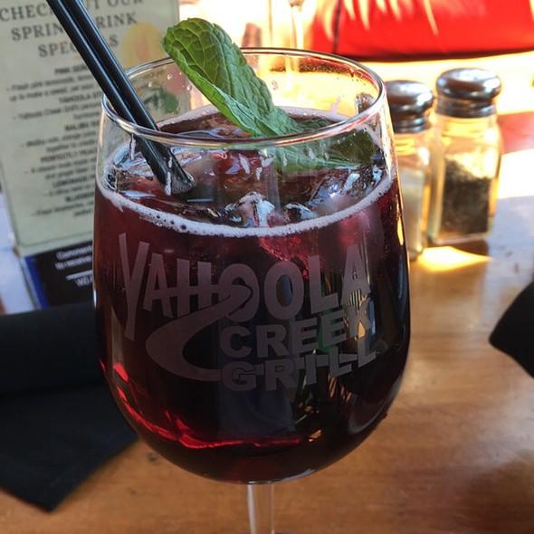 Red Sangria @ Yahoola Creek Grill