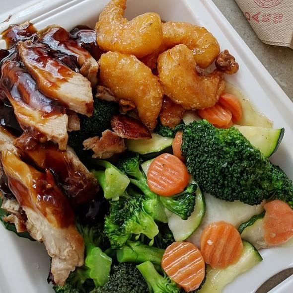 Teriyaki Chicken & Honey Glazed Shrimp @ Panda Express