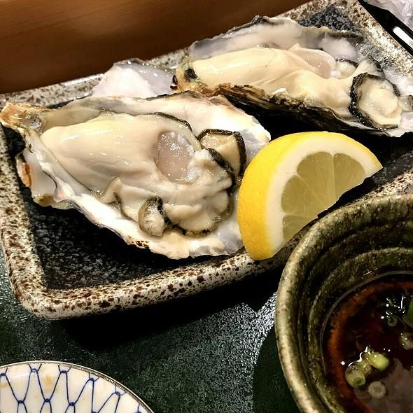 牡蛎 @ とき鮨