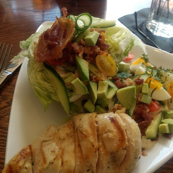 Wedge Salad With Tomato Jam, Housemade Pancetta And Blue Cheese Dressing