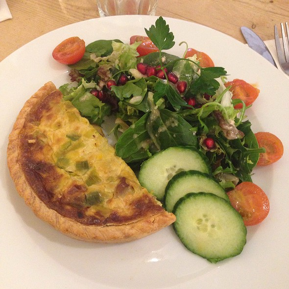 Quiche Oyster Mushroom And Leek @ Le Pain Quotidien