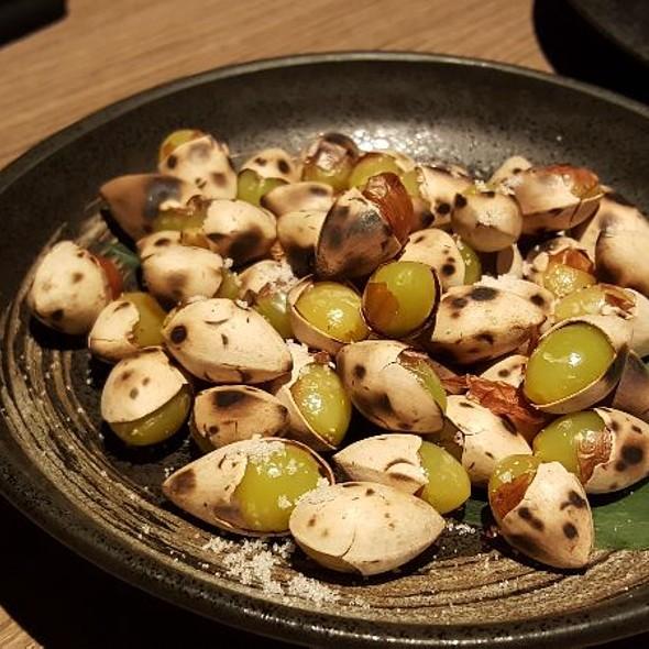 Grilled Gingko Nuts