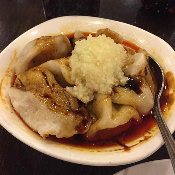 Szechuan Dumplings With Hot Oil