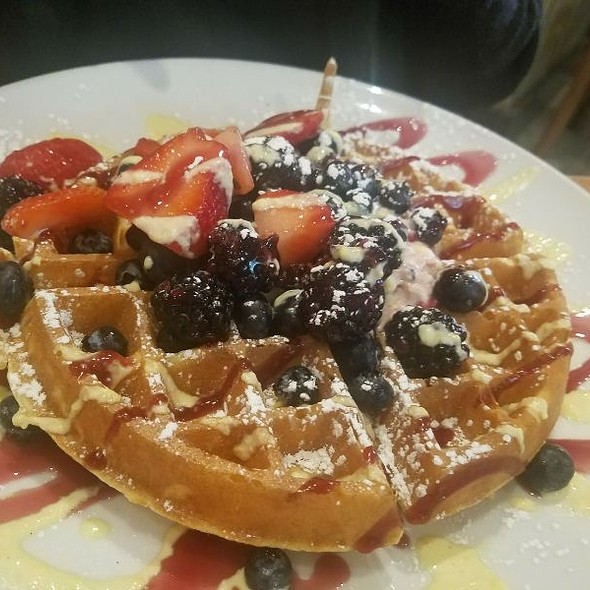 Wildberry Belgian Waffles