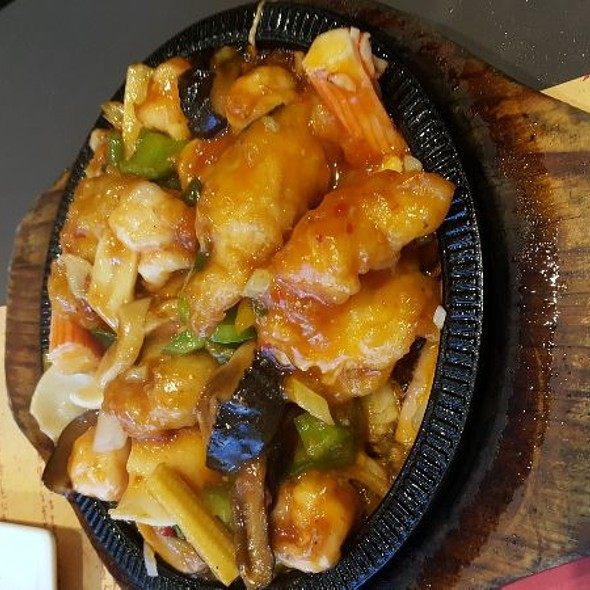 Hot Plate Mixed Seafood