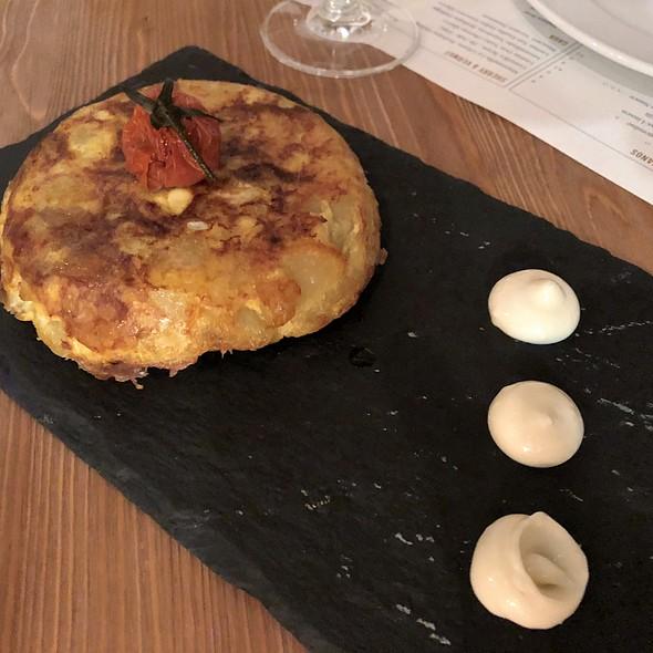 Tortilla de Patate @ Paco Restaurant