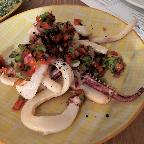 Pulpo a la Gallego (Galician Octopus) @ Paco Restaurant