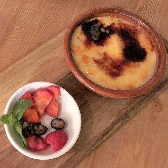 Crema Catalana @ Paco Restaurant